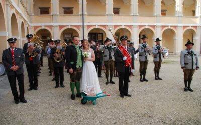 Hochzeitsfreude bei der Eisenbahner Stadtkapelle Knittelfeld