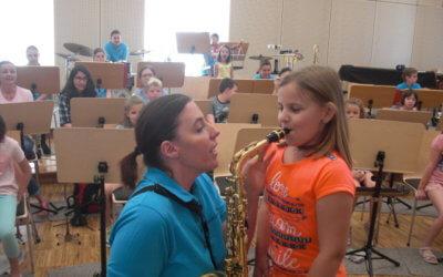 Instrumentenworkshop im Rahmen des Kindersommers