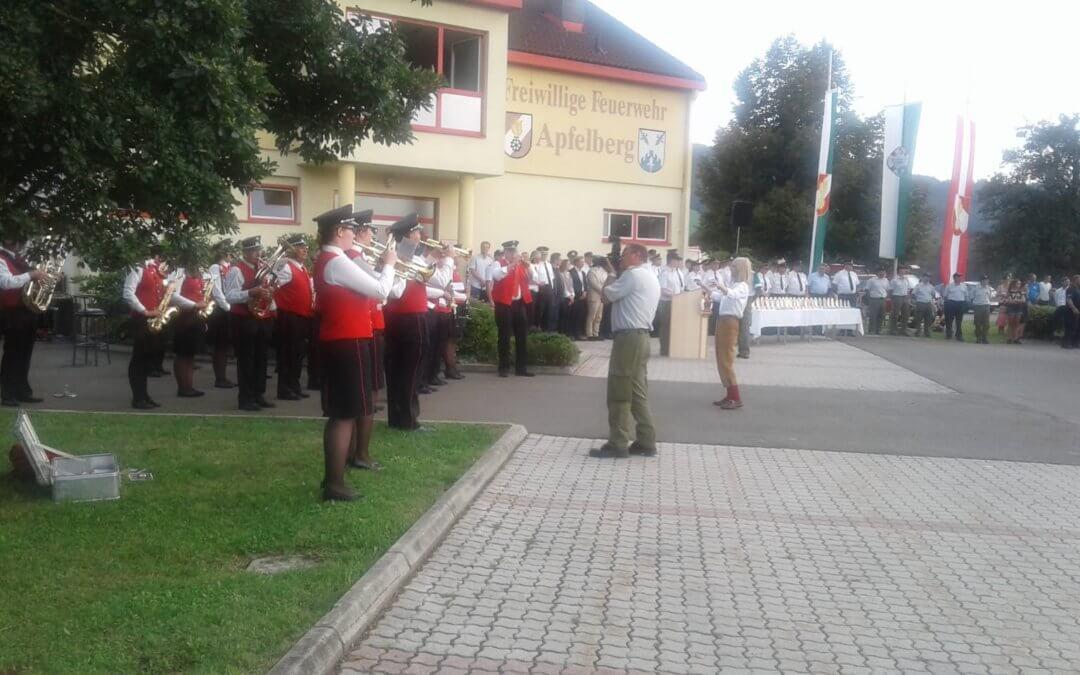 23. Steirischen Landes-Wasserwehrleistungsbewerb in Apfelberg