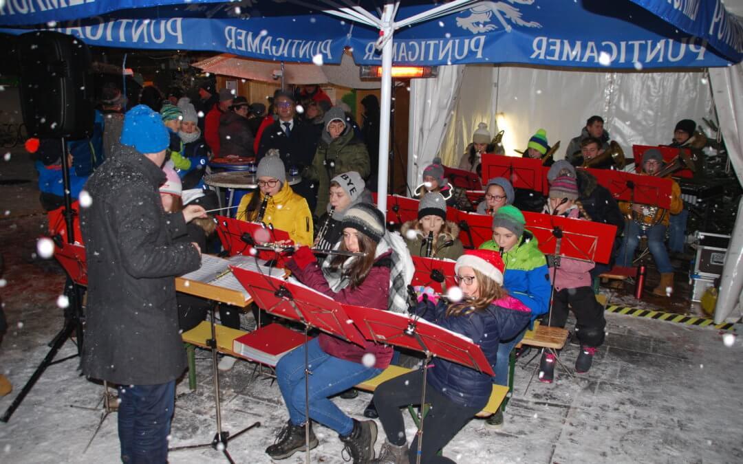 Adventsmarkt Knittelfeld mit dem Soundhaufn
